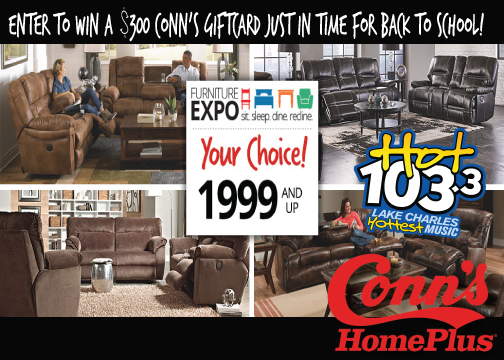 Enter to win a $300 Conn's Gift Card!