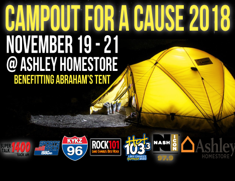 CAMPOUT FOR A CAUSE WITH HOT 103 3!