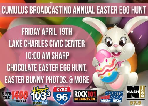 Join Us For Our Annual Easter Egg Hunt!