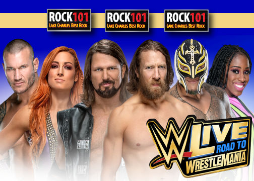 Win Tickets to WWE Live!