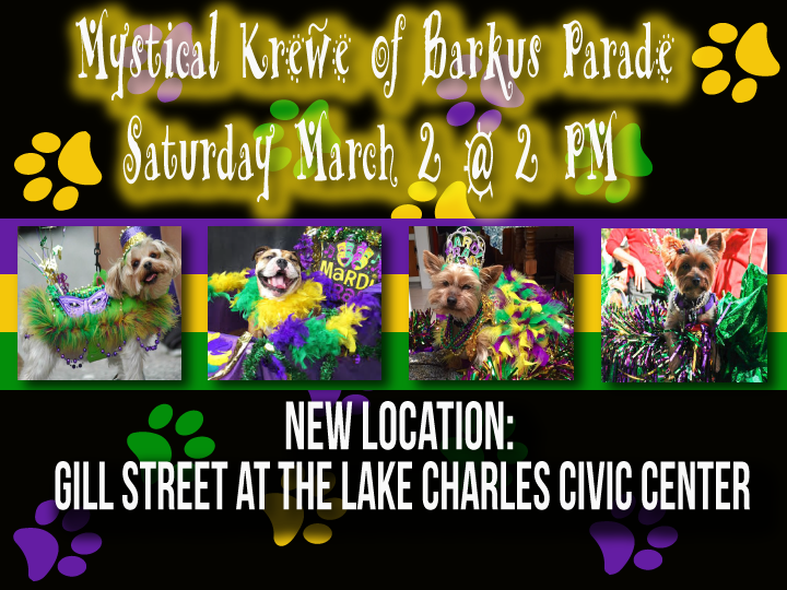 Annual Mystical Krewe of Barkus Returns March 2