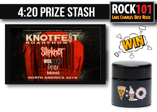 Rock 101 Prize Stash – KNOTFEST 2019