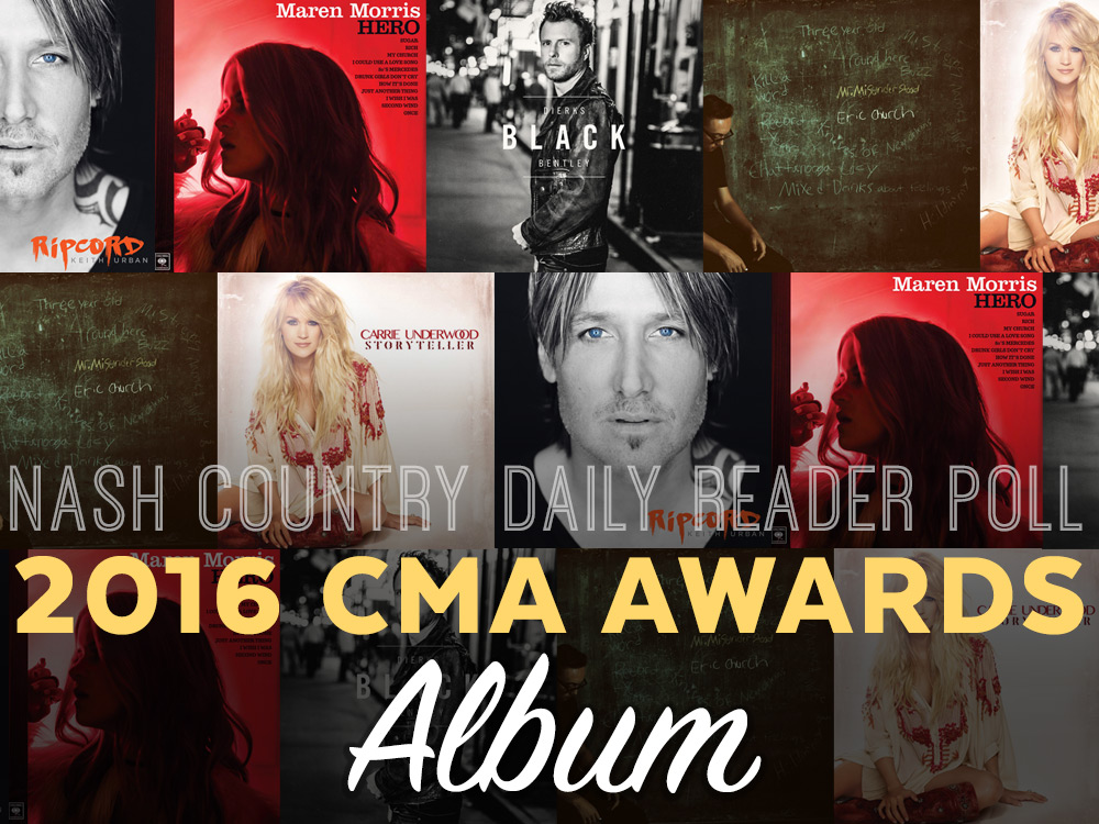 Vote Now: Who Should Win the CMA Album of the Year Award