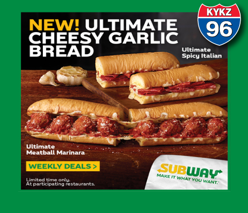 Win a $25 Subway Cash Card just in time for Christmas!