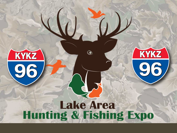 KYKZ 96 Welcomes the Lake Area Hunting and Fishing Expo March 26!