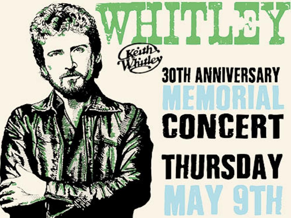 Keith Whitley Tribute Concert to Feature Garth Brooks, Trisha Yearwood, Tracy Lawrence, Joe Diffie & Many More