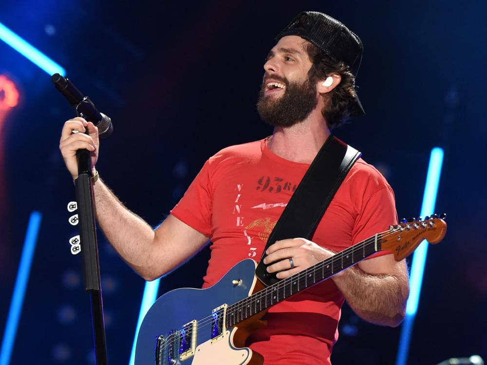 "Thomas Rhett Scores 13th No. 1 Single With ""Look What God Gave Her"""