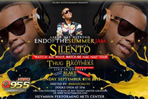 Silento is coming to the Heymann Performing Arts Center