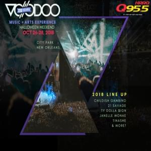 Win Voodoo Fest 2018 Tickets