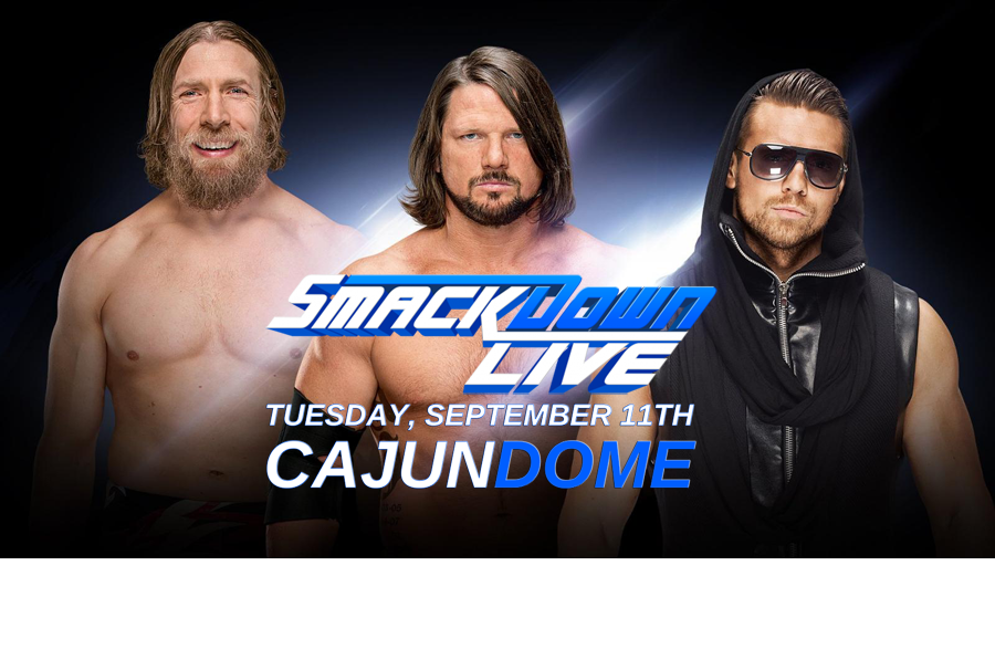 WWE Smackdown Live at the Cajundome before they go on sale!
