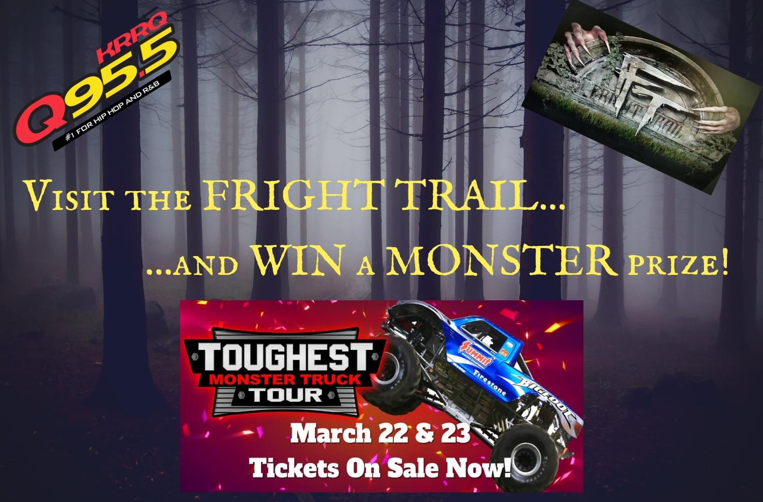 Fright Trail returns for another Halloween season of scares for all of Acadiana!