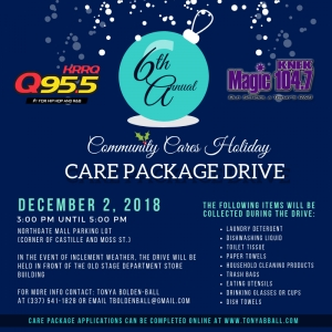 Holiday Care Package Drive
