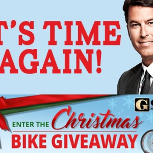Gordon Gives: Bike Giveaway 2018