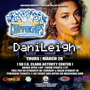 Southern University Spring Fest 2019 Featuring DaniLeigh!