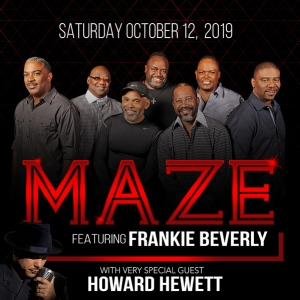 Maze Featuring Frankie Beverly At The Heymann Center!