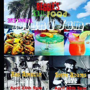 Reggie's Soulfood 3rd Annual Island Jam