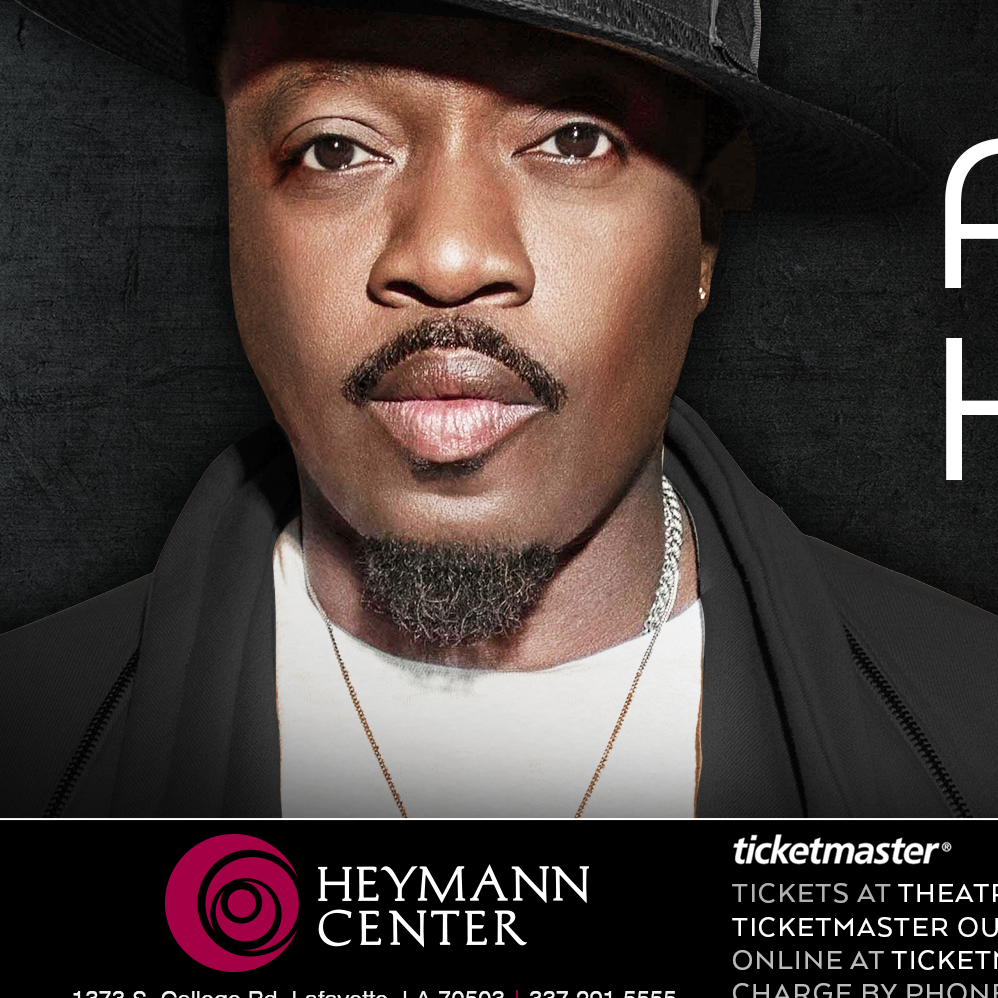Anthony Hamilton at the Heymann Center