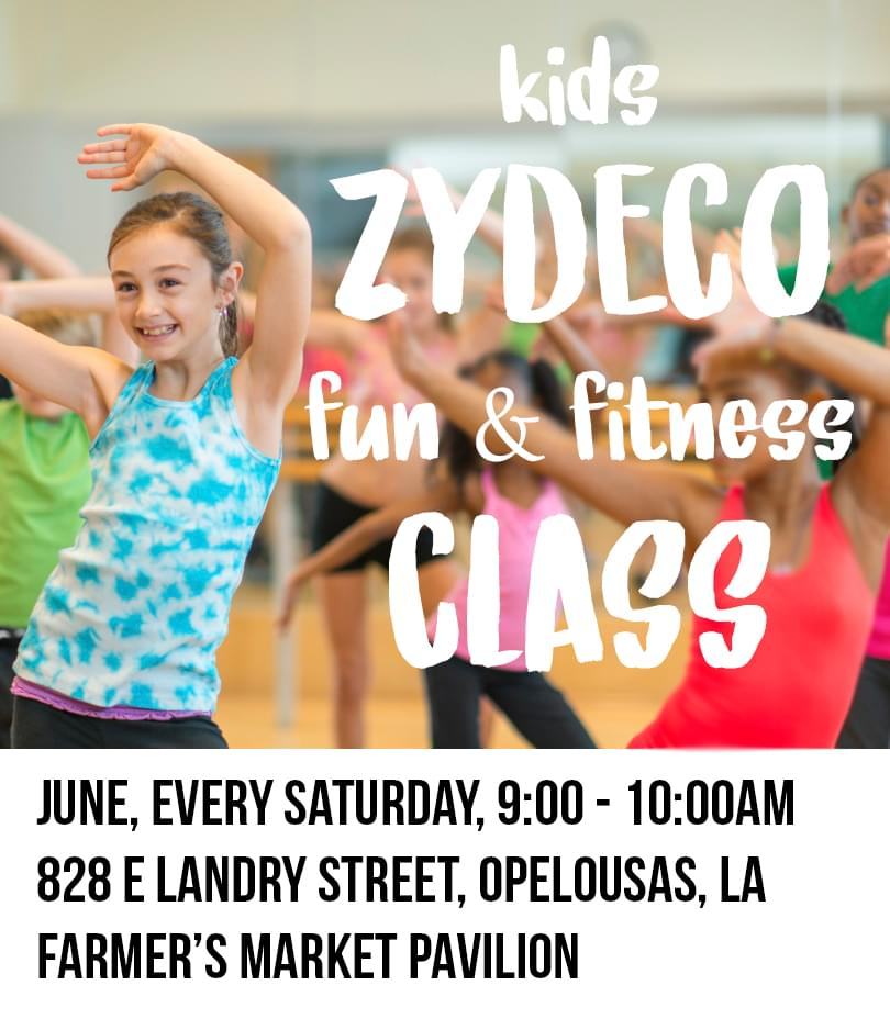 Kids Zydeco Fit & Fitness in Opelousas