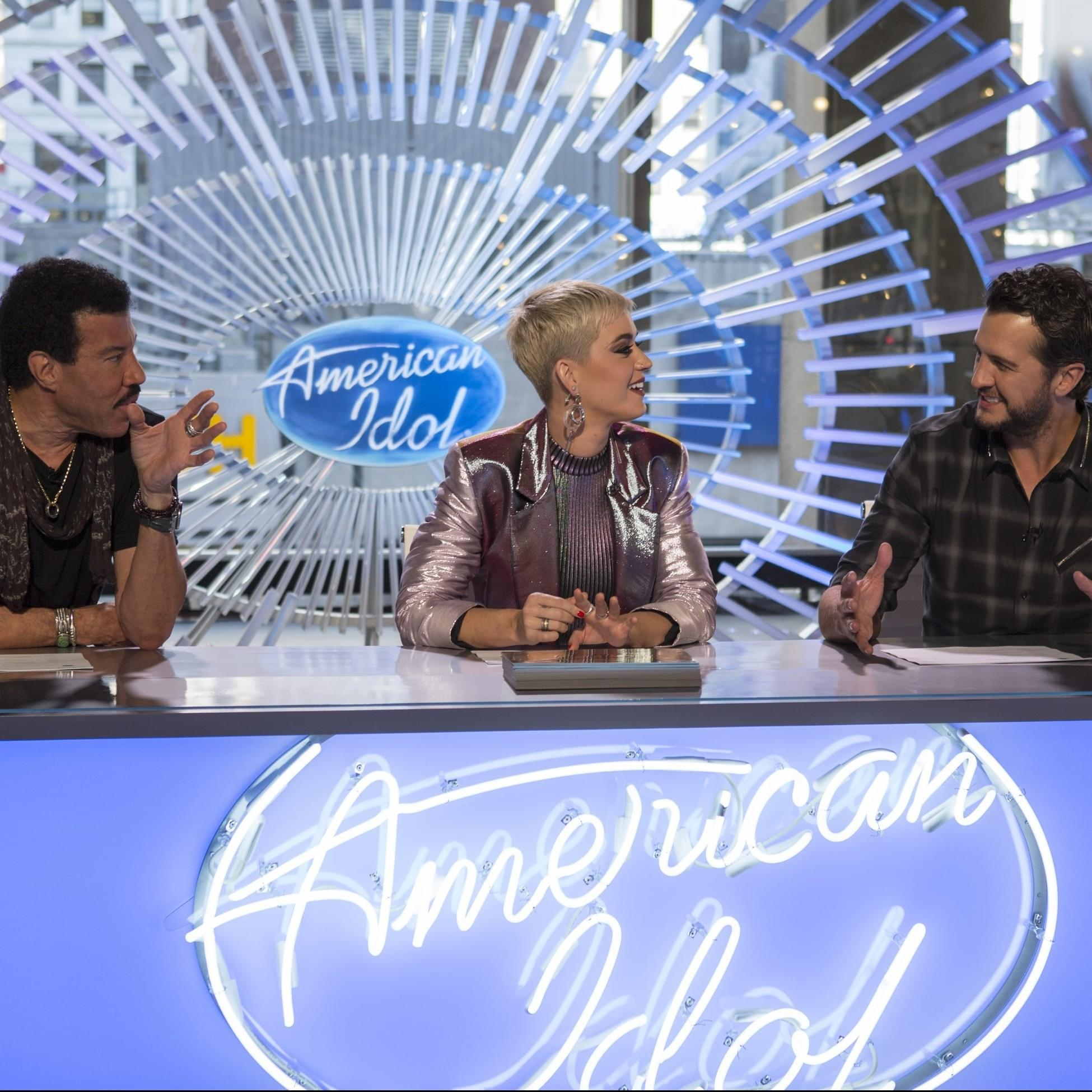 The American Idol is…