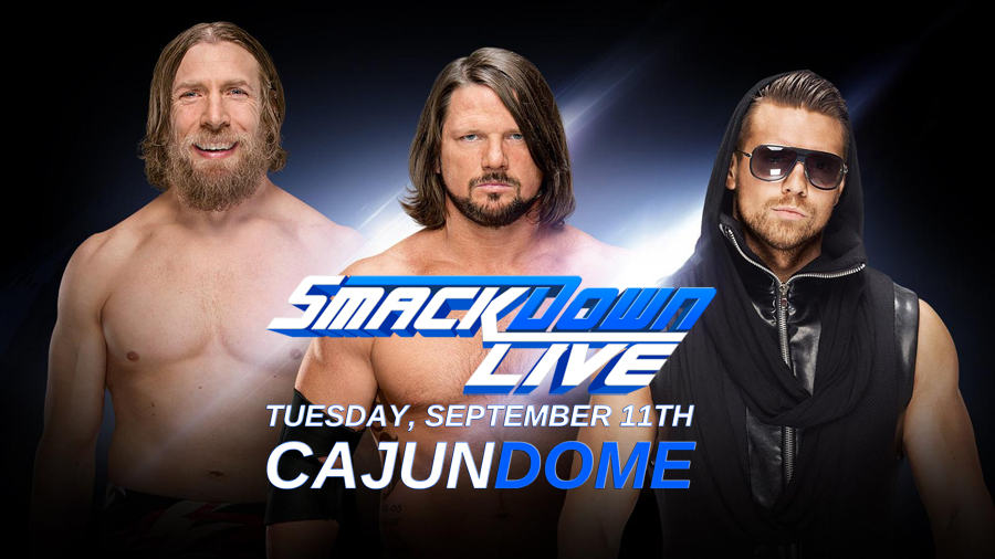 Tickets are on sale NOW for WWE Smackdown Live at the Cajundome on September 11th!