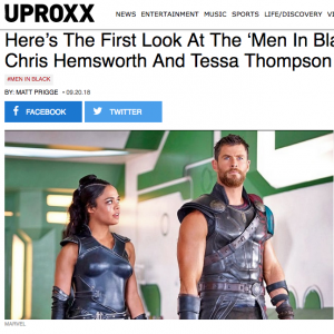 Chris Hemsworth to Star in MIB Spinoff