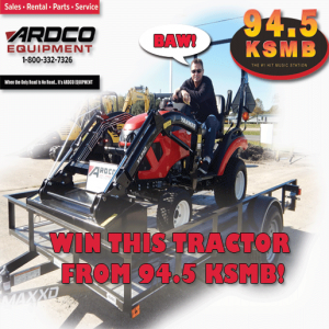 WIN THIS TRACTOR FROM 94.5 KSMB!