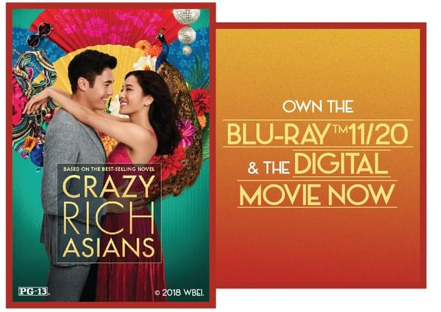 Enter to win a copy of 'Crazy Rich Asians!'