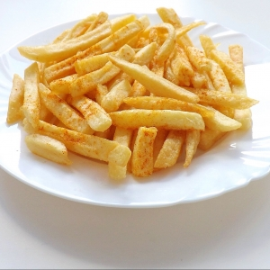 "There's A ""Healthy Portion"" When It Comes To French Fries…HA!"