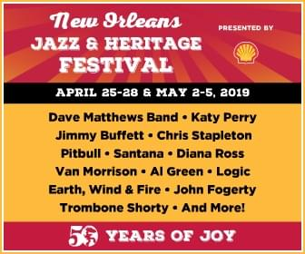 Win tickets to the 50th anniversary of New Orleans Jazz Fest!