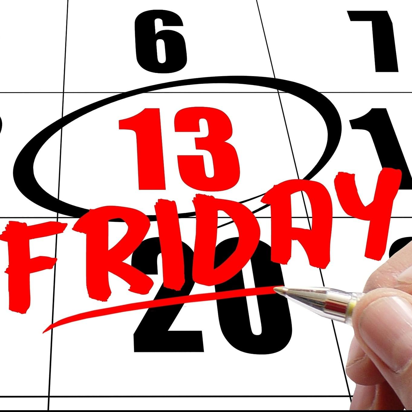 Today is Friday the 13th!