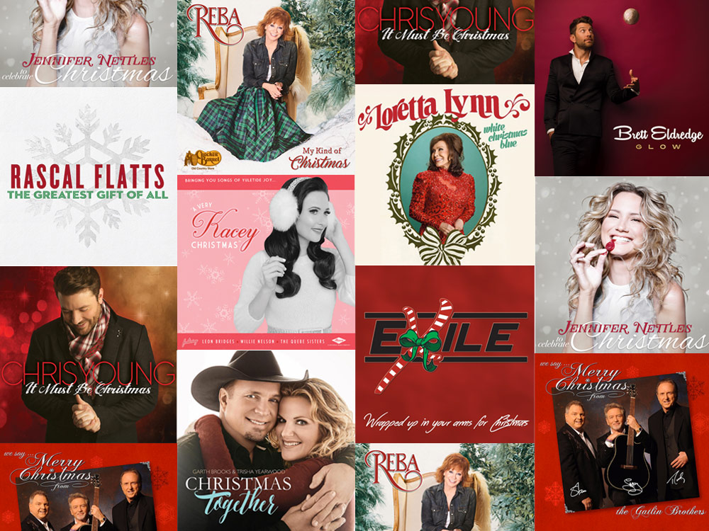 christmas is coming from reba loretta to garth trisha everything you need to know about this years 10 new holiday albums kxkc fm - A Country Christmas Story