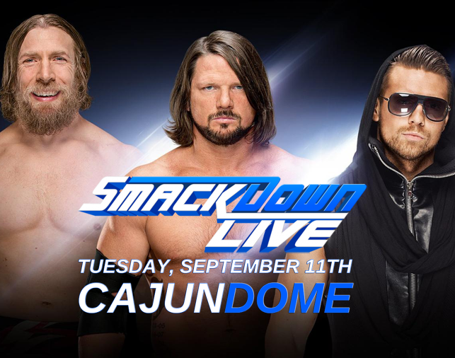 Tickets for WWE Smackdown Live at the Cajundome are on sale NOW!