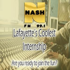 NASH 99.1 Internship Opportunities