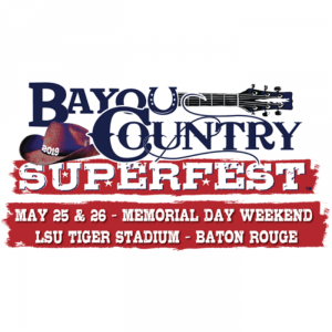 Single-Day Reserved Tickets for Bayou Country Superfest on Sale NOW