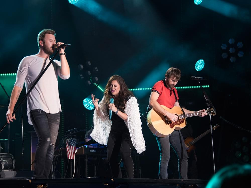 "Listen to Lady Antebellum's Heavy-Hearted New Single, ""What If I Never Get Over You"""