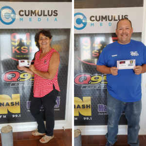 Congrats to our Hop on a Honda Winners!!