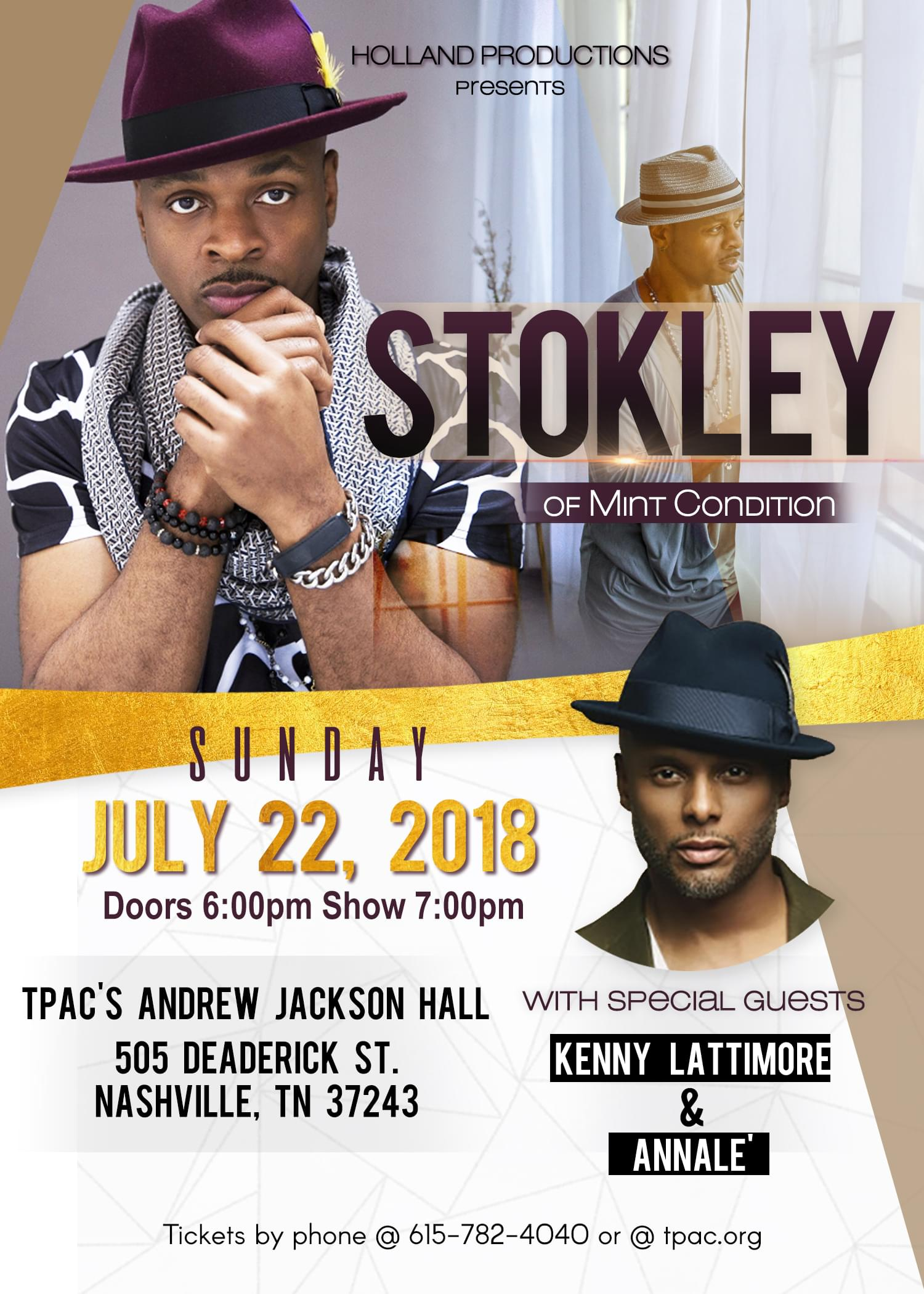 Stokley and Friends_Nashville TPAC