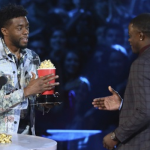 Chadwick Boseman Honors Real-life Hero James Shaw Jr. At MTV Movie Awards