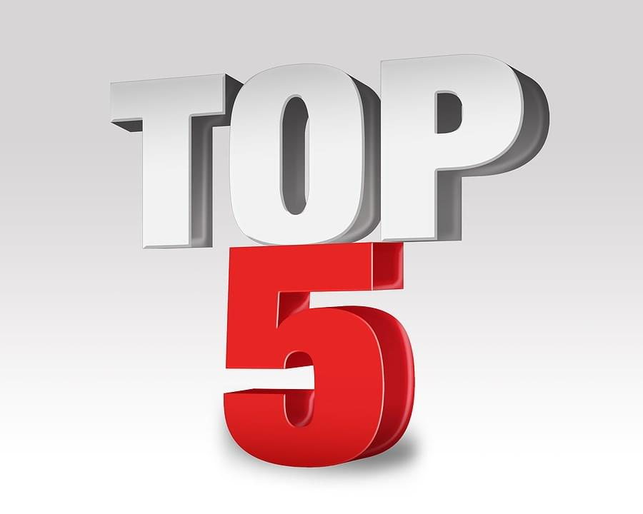 TOP 5 THINGS YOU SHOULD KNOW (10-15-18)