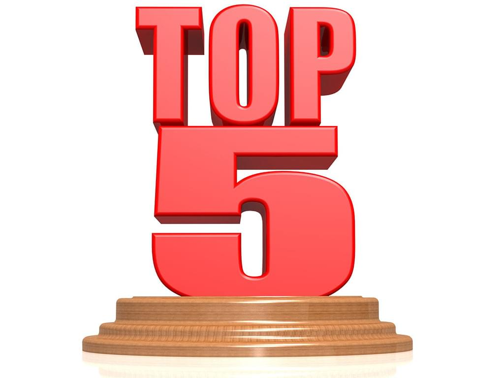 Top 5 Things You Should Know Today (03-08-19)