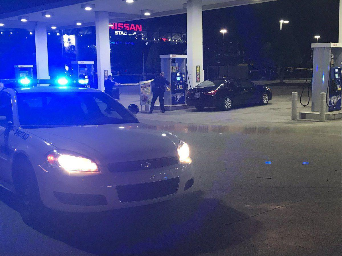Urber/Lyft driver shot in attempted carjacking at Nashville gas station