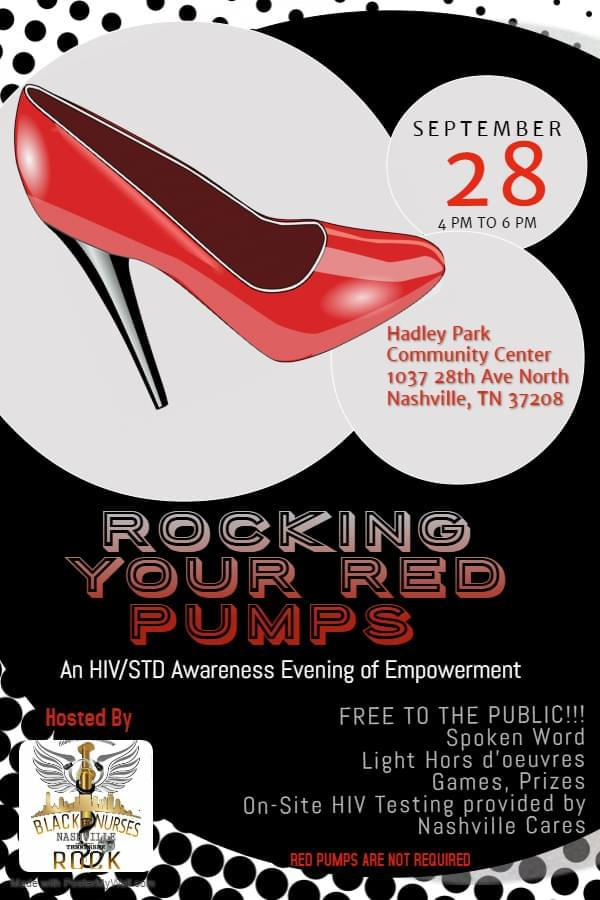 """""""Rocking Your RED Pumps"""" HIV/STD Awareness Event"""