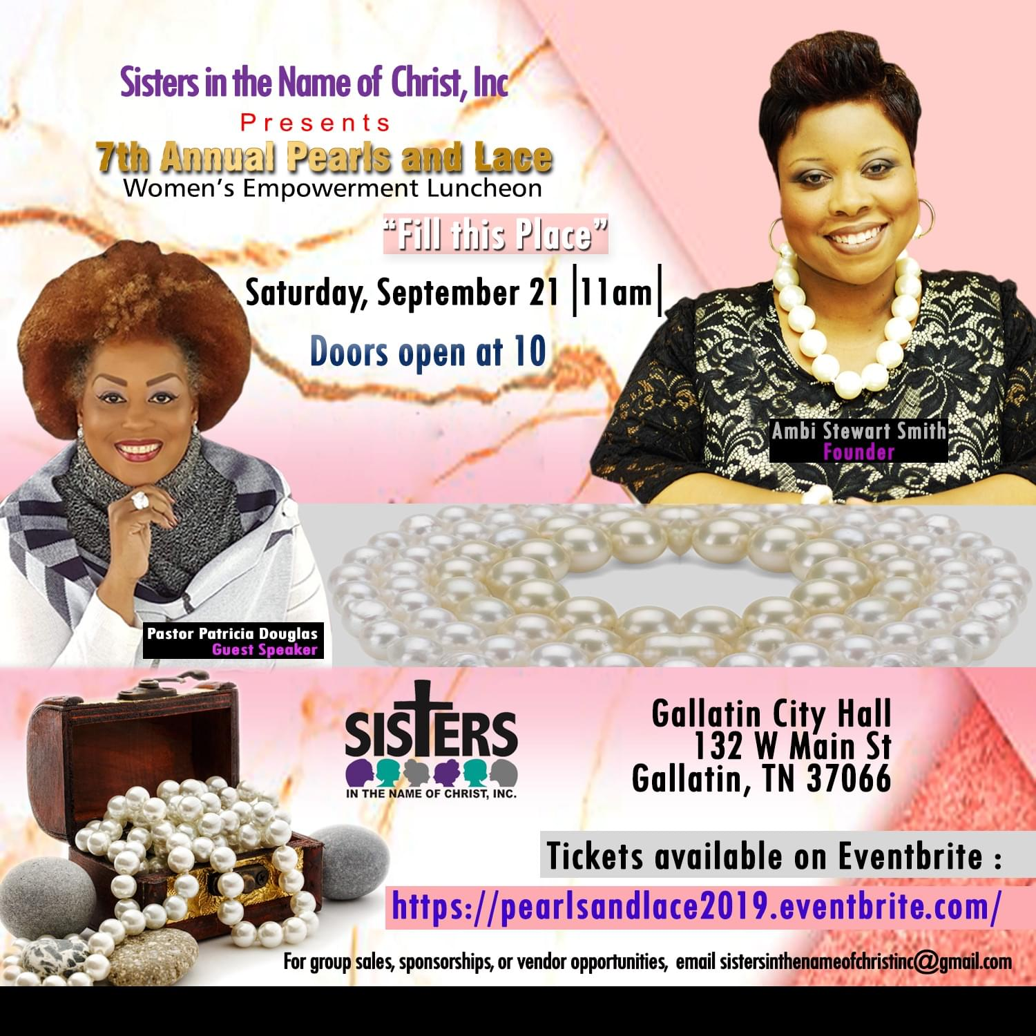 7th Annual Pearls & Lace Women's Empowerment Luncheon
