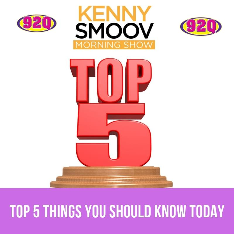 Top 5 Things You Should Know Today (08-16-19)