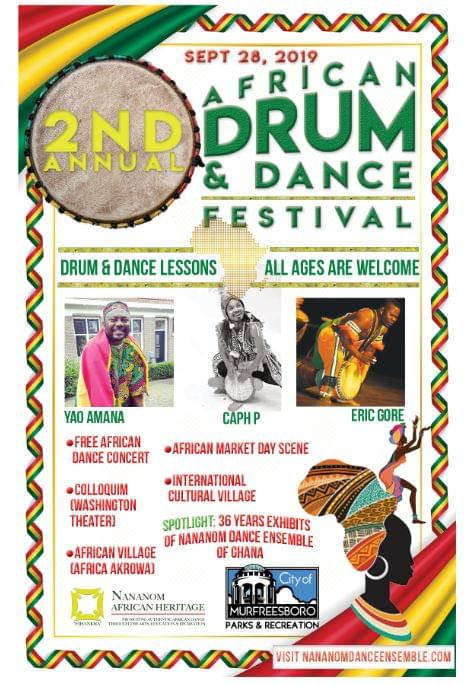2nd Annual African Drum & Dance Festival