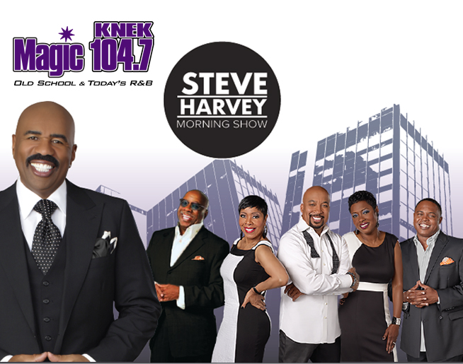 Steve Harvey Morning Show | KNEK-AF