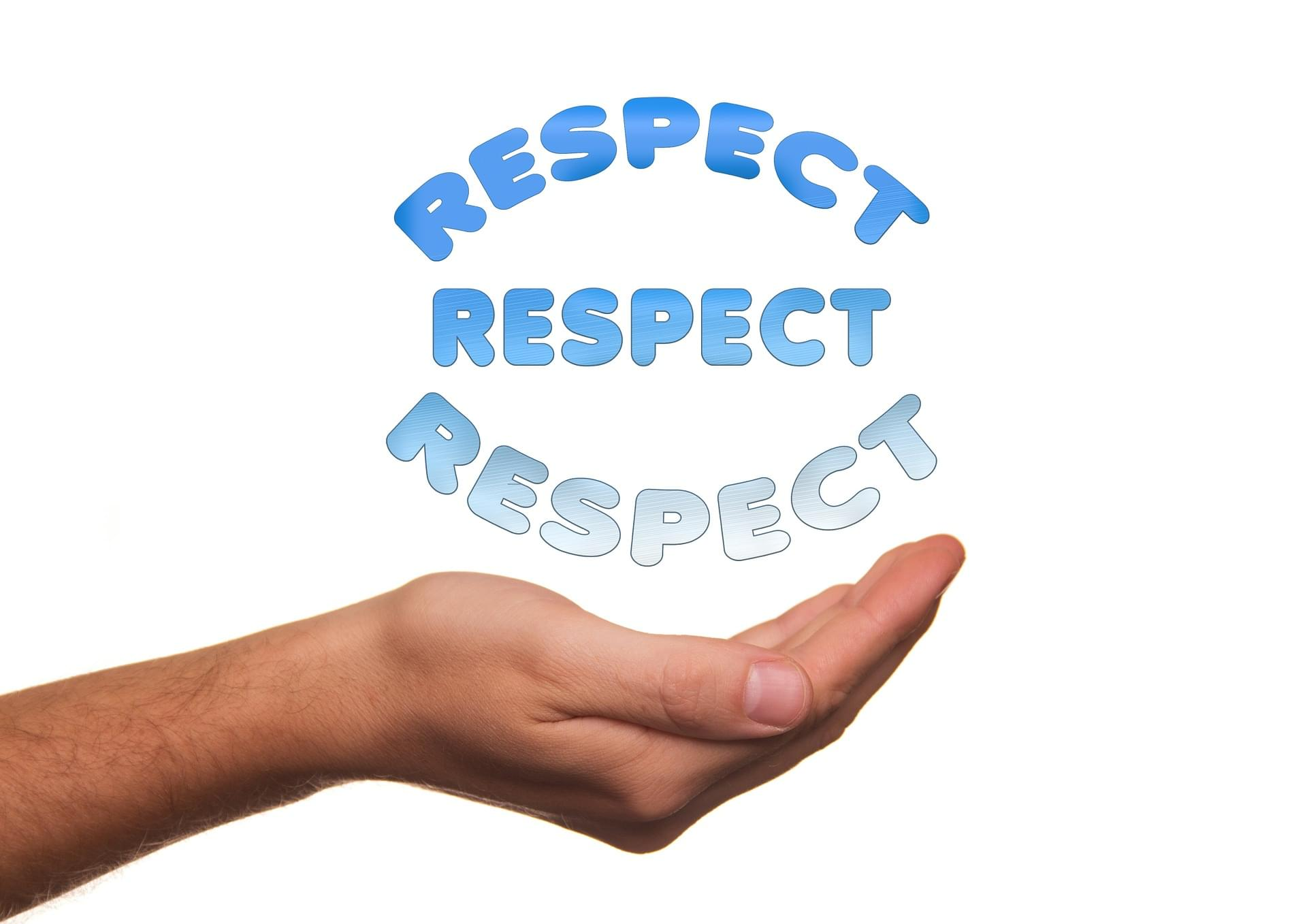 Aim for Respect Not Attention