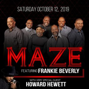 Win tickets to see Maze Featuring Frankie Beverly