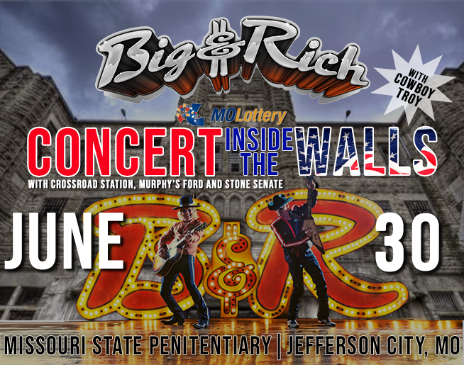 NASH FM 100.1 Welcomes Big & Rich to Jeff City, MO!