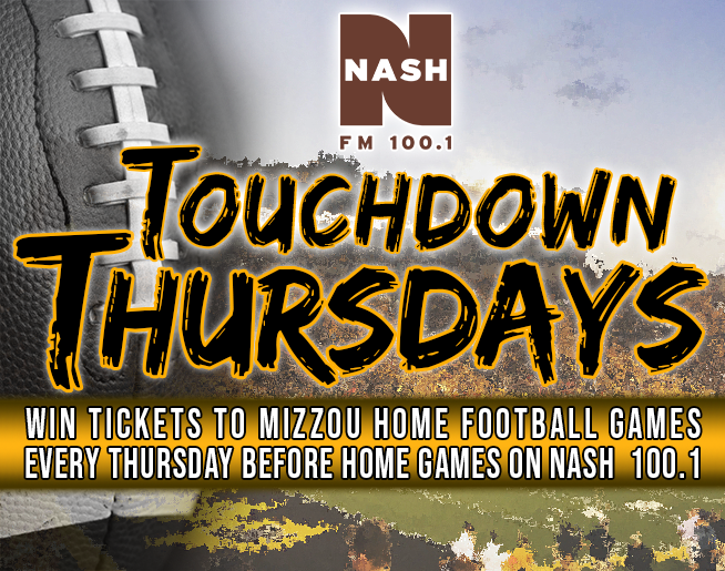 Touchdown Thursdays on NASH FM 100.1